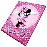 Disney Spielteppich - Kinderteppich - Teppich - Läufer 133x95cm mit Motivauswahl (Minnie Mouse)