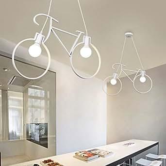 Lampadario a bracci per bicicletta industriale vintage - Amazon lampadari cucina ...