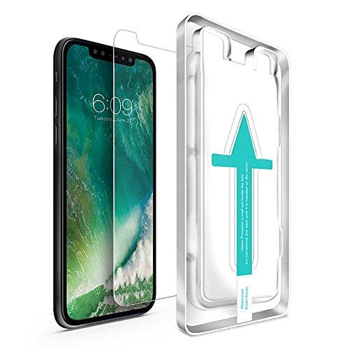 Screen Handy (iPhone X Panzerglas (2 Stück) - Japanische 9H Panzerglasfolie, Displayschutzfolie, Tempered Glass Schutzfolie, Glasfolie, Handy Schutz Panzerfolie Schutzglas für 10 Folie Screen protector)