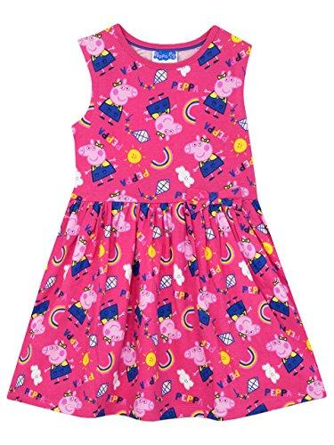 Peppa Wutz Mädchen Kleid 110