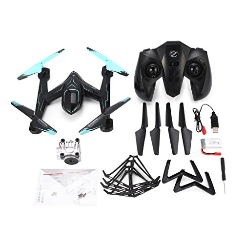 BlackPJenny AG-01DP FPV 720P Fotocamera Selfie Altitude Hold Drone Modalità Headless 3D Flip One Key Return Hovering H / L Speed RC Quadcopter