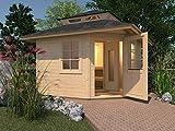 Weka Saunahaus 149 inkl. 7,5 kW Sauna-Ofen (OS)
