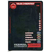 Doctor Who Monster Invasion Card #036 Telos Cybermen