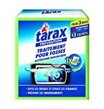 TARAX Traitement Fosses Septiques Activateur Biologique 3 Mois / 13 Sachets / 195 Gr 13 Sachets - Lot de 2