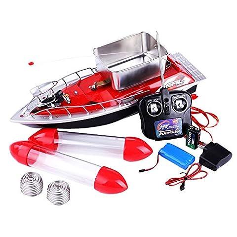 GGG 150M sans fil RC Pêche Nest Lure Radio Bait Bateau Fish Finder Télécommande - Rouge