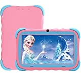 Tablet da 7 Pollici Android 7.1 Tablet IPS HD da 1GB/16GB Babypad Edition PC con Wifi e Fotocamera e Giochi Google Play Store Bluetooth Custodia per Bambini Certificata GMS(Rosa)