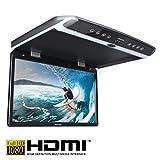 AMPIRE OHV185-HD 47cm (18.5 Zoll) Full-HD Deckenmonitor (1920x1080) mit HDMI + USB + IR-Transmitter