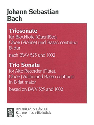 Triosonate Bes (Nach Bwv525 1032) Chant