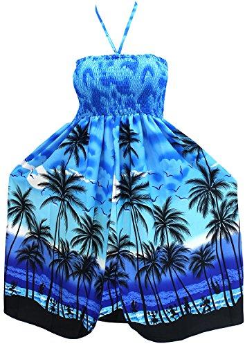 traje-de-bao-de-encubrir-vestido-de-tubo-corto-desgaste-de-la-playa-del-traje-de-bao-halter-maxi-vestido-de-verano-azul-por-encima-de-la-rodilla