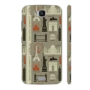 Enthopia Designer Hardshell Case Wonderland Back Cover for Huawei Honor Bee