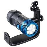 Scubapro NOVA 2100 SF Tauchlampe im Set mit Handle (Spot und Flut) - 30.400.001