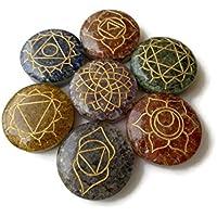 Gemsdiamondsbyshikha Set aus 7Chakra Pendel, mit Multi Edelstein Orgonite Heilung, Kristall und Stein, rund,... preisvergleich bei billige-tabletten.eu