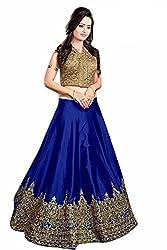 Clickedia Womens Bhagalpuri Silk Lehenga Choli