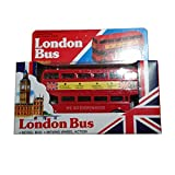 Diecast London Bus (Small) - Moving Wheel Action by T.B