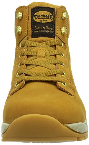 Dockers by Gerli 331515-003093, Baskets hautes homme Jaune - Gelb (golden tan  093)