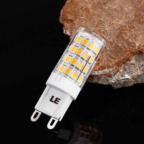 sale le 5er g9 led lampen ersetzt 50w halogenlampen 5w 340lm smd 2835 warmwei 3000k 360. Black Bedroom Furniture Sets. Home Design Ideas