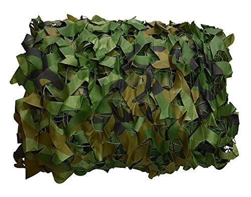 XUE Tarnnetz Woodland 2x2M für die Jagd Camouflage Netz Grün für Bundeswehr Sniper Armee Fotografie Sonnenschutz Deko Militär Garten -