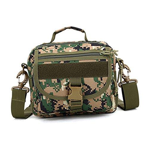 e-jiaen Taille Tasche Handtasche Schulter Tasche für Radfahren Wandern Camping und Verwandte Outdoor Sports oder Werkzeuge Zubehör C2