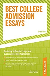 Best College Admission Essays (Peterson's Best College Admission Essays)
