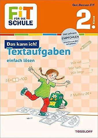 FiT FÜR DIE SCHULE: Das kann ich! Textaufgaben einfach lösen