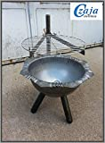 Feuerschale Ø 40 cm mit Grillrost