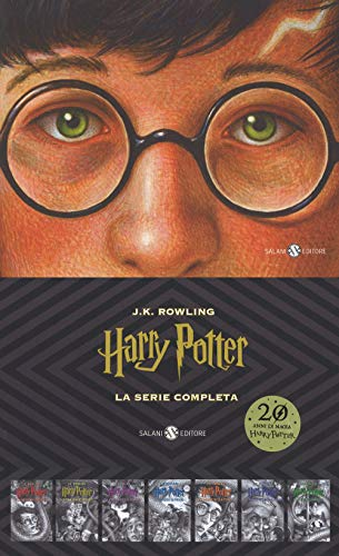 Harry Potter. La serie completa: Harry Potter e la pietra filosofale-Harry Potter e la camera dei segreti-Harry Potter e il prigioniero di ... Mezzosangue-Harry Potter e i doni della morte