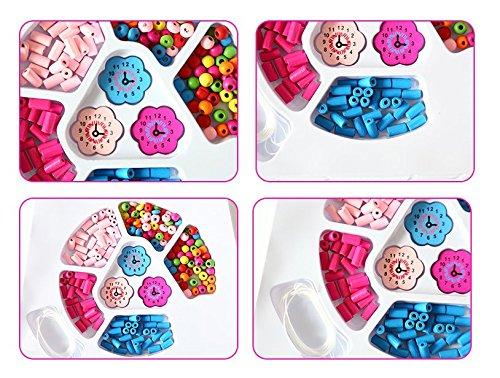scrox Snap Pop Perlen Mädchen Spielzeug-DIY Schmuck Kit Modus Fun für Halskette Ring Armband Kunst Handwerk Geschenk Spielzeug für Kinder Mädchen