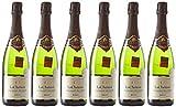 LACHETEAU Crémant de Loire Blanc Brut 750 ml - Lot de 6