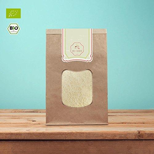 süssundclever.de® | Bio Mandeln, blanchiert und gemahlen | 1 kg | Premium Qualität: sehr fein gemahlen | qualitativ-hochwertiges Naturprodukt | 100% naturbelassen