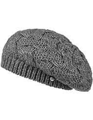 Lierys Baskenmütze Jesila Strickbaske Wintermütze Wollmütze Damenmütze