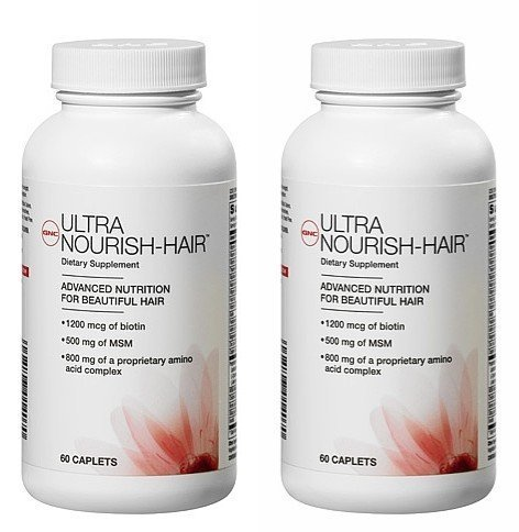 gnc-womens-ultra-nourish-hair-caplets-120-count-two-bottles-each-of-60-caplets-120-total-by-gnc