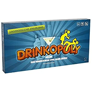 Kreativni doga?aji Drinkopoly - board games (Multicolour)
