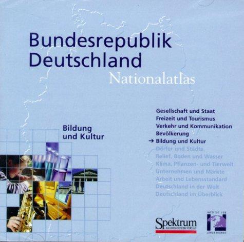 Bildung und Kultur, 1 CD-ROM Hrsg. v. Inst. f. Länderkunde, Leipzig