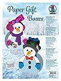 Ursus 28120099 - Paper Gift Boxes, Schneemann