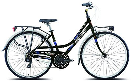 Legnano Ciclo 431 Lerici, City Bike Donna, Nero, 48