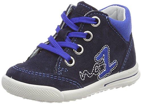Superfit Baby Jungen Avrile Mini Sneaker, Blau (Ocean Kombi), 23 EU