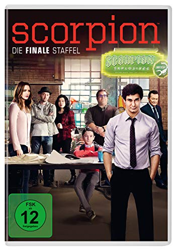 Scorpion - Season 4 [6 DVDs] -