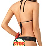 Mesdames Pyjamas sauvages Harness Perspective Backless Sexy lingerie Uniform - 3