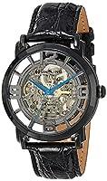 Reloj Stuhrling Original 165B.335569 automático para hombre con correa de piel, color negro de Stuhrling Original