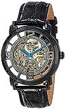 Stuhrling Original 165A.33112 Herren-Armbanduhr Analog Automatik Kalbsleder