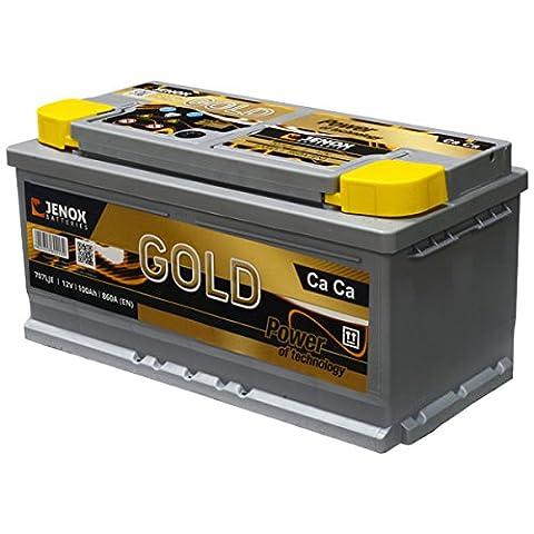Jenox 707LJE Batterie LB5D 12 V 100 Ah/860 A
