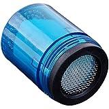 Robinet D'eau Salle de Bains Douche Lueur Flux Tête de Robinet 3.5cm LED Bleue