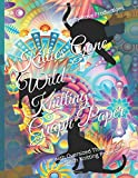 Kitties Gone Wild Knitting Graph Paper: Use with Oversized Thick Yarn or Double Stitch Knitting Projects