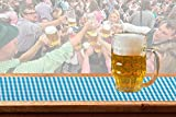 NEU Tischläufer Bayern-Raute Oktoberfest 600x65 cm