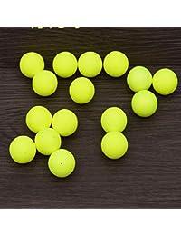 Banbie8409 Leo Float Ball Foam Ball Modificado Float Ball Flotador Esférico Boya de Pesca (Amarillo