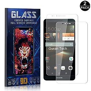 Bear Village® Huawei Mate 7 Displayschutzfolie, HD Panzerglasfolie mit 3D Touch, 9H Härtegrad Schutzfilm aus Gehärtetem Glas für Huawei Mate 7, 2 Stück