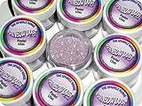 Rainbow Dust Non-Toxic Kuchen Glitzern Glanz Dekoration Pastel Lilac Lila