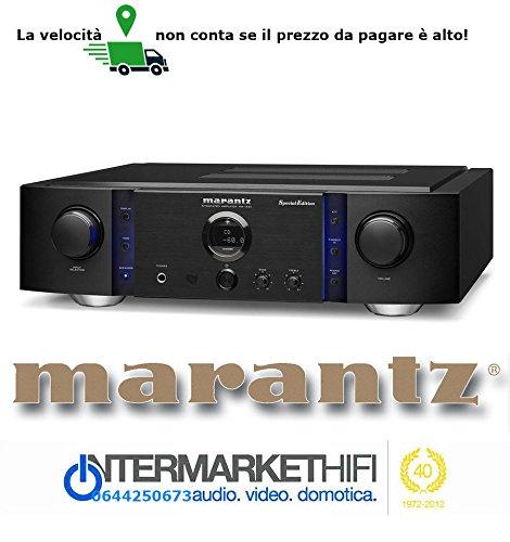 Amplificatore integrato Serie Premium Marantz PM 14-S1 SE Special Edition -coperchio in alluminio da 5 mm, nuovi piedini,90Watt RMS 8 Ohm/140 Watt RMS 4 Ohm Condensatori speciali Marantz e Diodi speciali per una alimentazione più veloce e con minore distorsione, trasformatore Toroidale,Marantz HDAM- SA2 & SA3, Constant Current Feedback, Phono MM-MC EQ con V-I servo, power amp direct, Negozio Intermarket Hi-Fi Roma progettazione, Hifi online shop