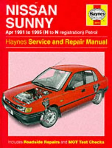 Nissan Sunny - Nissan Sunny (91-95) Service and Repair