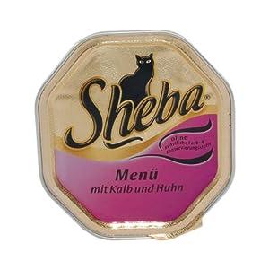 German Sheba Sheba Menu Veal and Chicken - 1 x 100 g from Mars GmbH